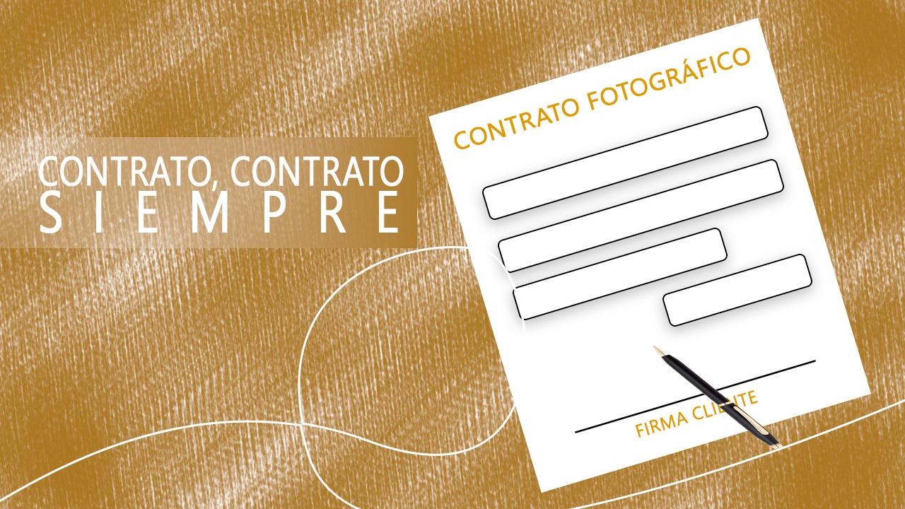 La importancia de firmar un contrato fotográfico
